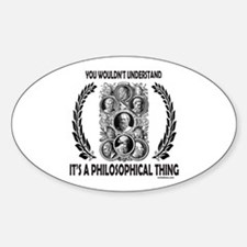 PHILOSOPHY Oval Decal