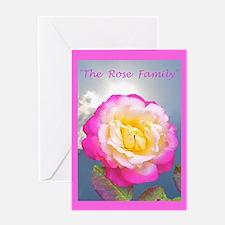 Robert Frost Rose Poem Greeting Card