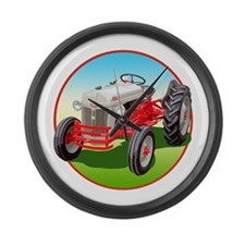 Funny Agriculture Large Wall Clock