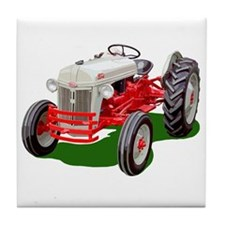 Tractor pulling Tile Coaster