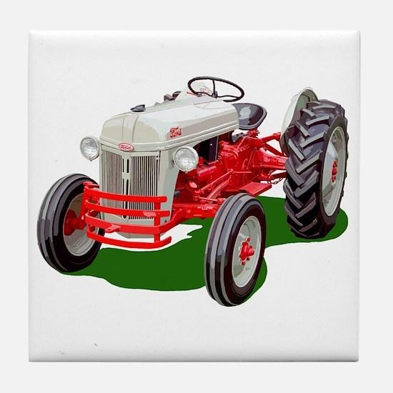 Cute Vintage farm Tile Coaster