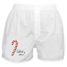 Christmas Candy Boxer Shorts
