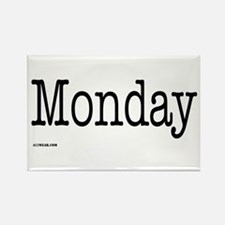 Monday - On a Rectangle Magnet