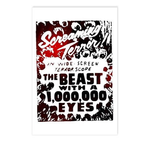 Beast with 1,000,000 Eyes Postcards (Package of 8)
