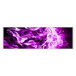 Purple Flame Large E-Cig Skin