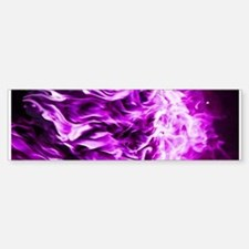 Purple Flame Large E-Cig Skin