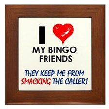 I love my Bingo Friends Framed Tile