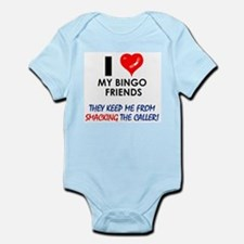 I love my Bingo Friends Infant Creeper