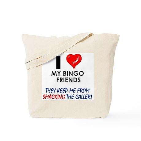 I love my Bingo Friends Tote Bag