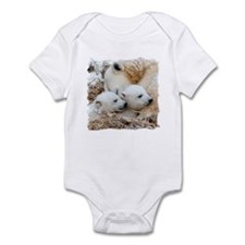 Polar Bear Family Infant Bodysuit