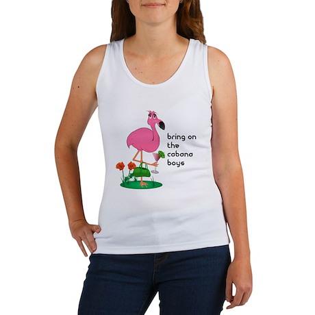 Bachelorette/Flamingo Women's Tank Top