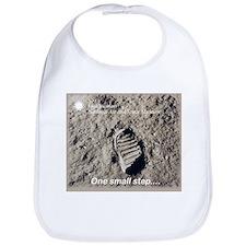 Apollo 11 Bootprint Bib