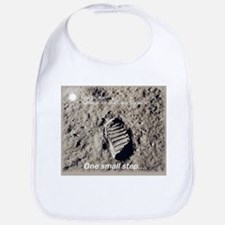 Apollo 11 Bootprint Bib