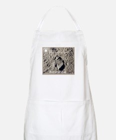 Apollo 11 Bootprint BBQ Apron