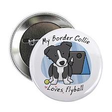"Kawaii BC Flyball 2.25"" Button"