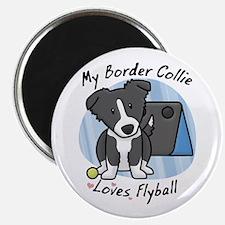 Kawaii BC Flyball Magnet