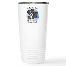 Kawaii BC Flyball Travel Mug