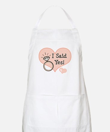 I Said Yes Bride To Be BBQ Apron