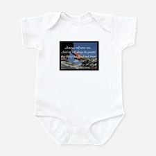 We will not run Infant Bodysuit