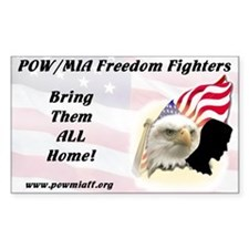 POWMIAFF Rectangle Decal