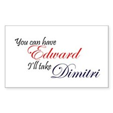 Edward/Dimitri Rectangle Decal