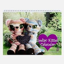 Zodiac Kitten Calendar