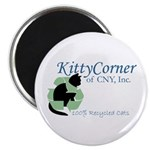 "Kitty Corner 2.25"" Magnet (100 pack)"