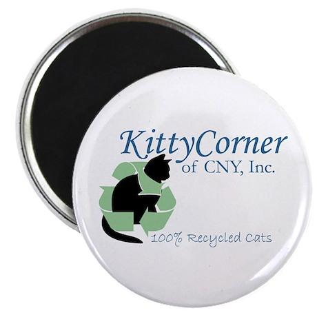 """Kitty Corner 2.25"""" Magnet (10 pack)"""
