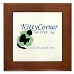 Kitty Corner Framed Tile