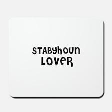 STABYHOUN LOVER Mousepad