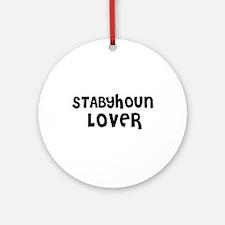 STABYHOUN LOVER Ornament (Round)