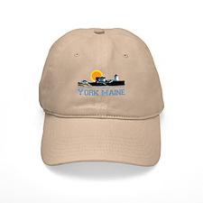 York, Maine Baseball Cap