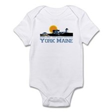 York, Maine Infant Bodysuit