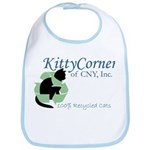 Kitty Corner Baby Bib