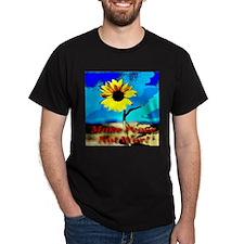 Make Peace Not War! Black T-Shirt