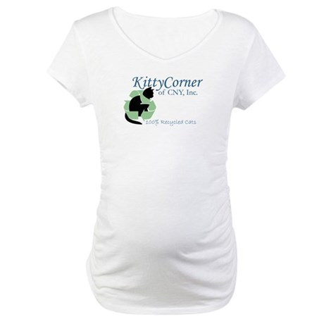 Kitty Corner Maternity T-Shirt