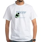 Kitty Corner White T-Shirt