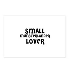 SMALL MUNSTERLANDER LOVER Postcards (Package of 8)