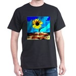 God Bless Illinois! Black T-Shirt