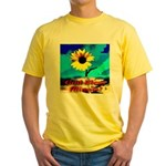 God Bless Illinois! Yellow T-Shirt