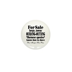 Rue Morgue Classified Mini Button (10 pack)