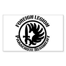 Foreign Legion Rectangle Decal