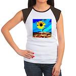 God Bless California! Women's Cap Sleeve T-Shirt
