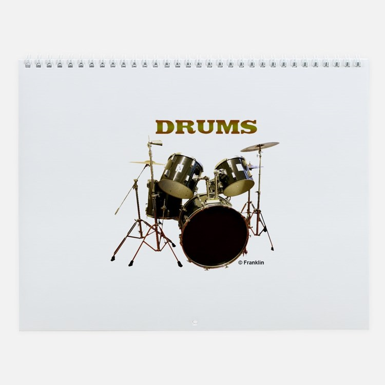 Drums Wall Calendar