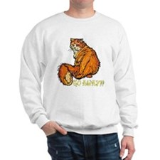 mad cat Sweatshirt