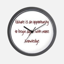 Cute Funny quotes Wall Clock