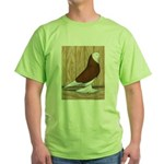WOE Red Bald Green T-Shirt