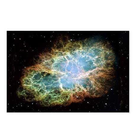 Crab Nebula Postcards (Package of 8)