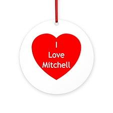 SG Love Mitchell Ornament (Round)