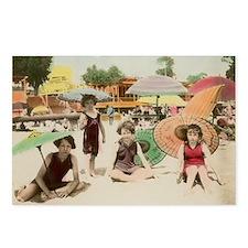 Boardwalk Girls Postcards (Package of 8)